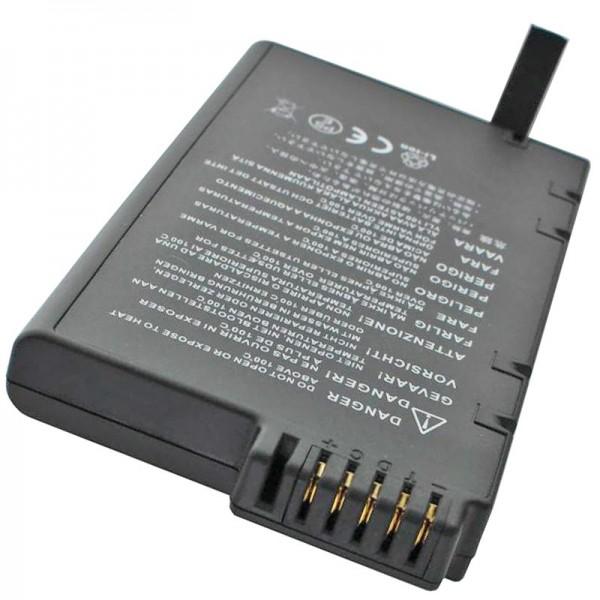 Batterie remplaçable compatible AccuGell de Samsung GT 8850