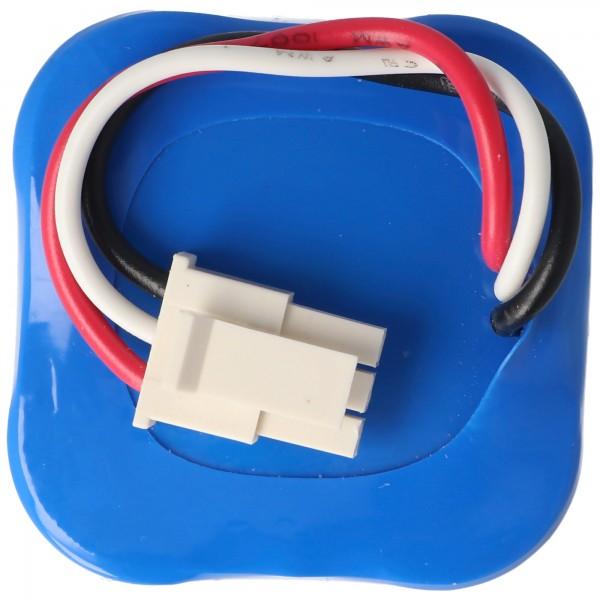 Batterie adaptéee à la batterie 2ASP4-S5 Batterie de remplacement 360 Robot pour robot aspirateur S5, S7, S9 14.4V 2600mAh 37.4Wh