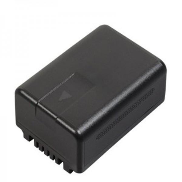 Batterie d'origine Panasonic VW-VBT190E-K VW-VBT190, HC-VXF999, HC-VX878, HC-VX989, HC-V110, HC-V130, HC-V180, HC-V180, HC-V210, HC-V210, HC-V250, HC- V270, HC-V380, HC-V510, HC-V550, HC-V727, HC-V757, HC-V777, HC-W