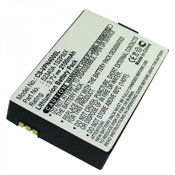Batterie pour VDO DAYTON BAT-4060, PN4000, PN4000-TSN, 52340A 1S2PMX