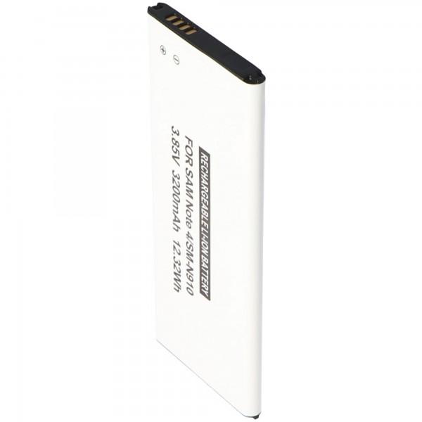 Batterie pour Samsung Galaxy Note 4, 3200mAh