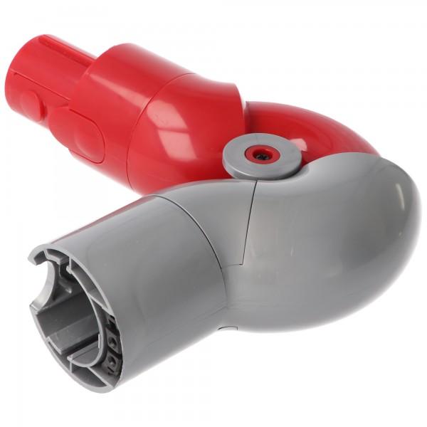 Adaptateur flexible adapté pour Dyson V7, V8, V10, V11, remplace 970790-01, angle réglable à 90 degrés, adaptateur d'aspirateur flexible avec mécanisme enfichable