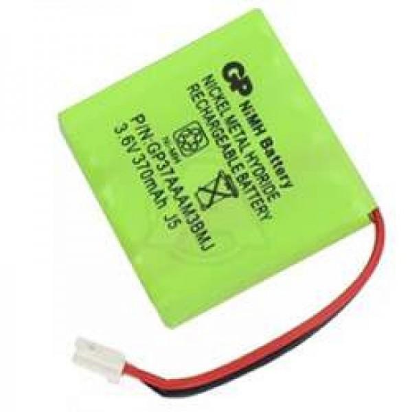 AccuCell batterie adapté pour Alcatel Bilboa 37AAAM3BMJ, 370mAh