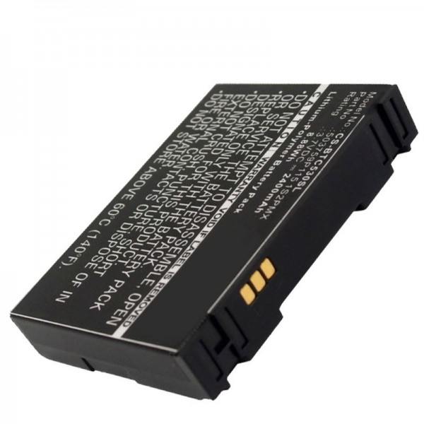 Batterie adapté pour Blaupunkt Travelpilot Lucca 5.3 batterie 503759P115 1S2PMX