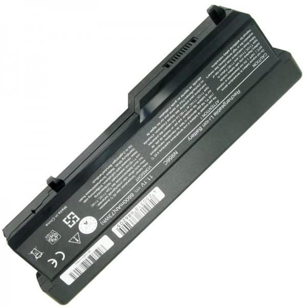 Batterie pour Dell Vostro 1310, Vostro 1320, 312-0725 11.1 Volt 6600mAh