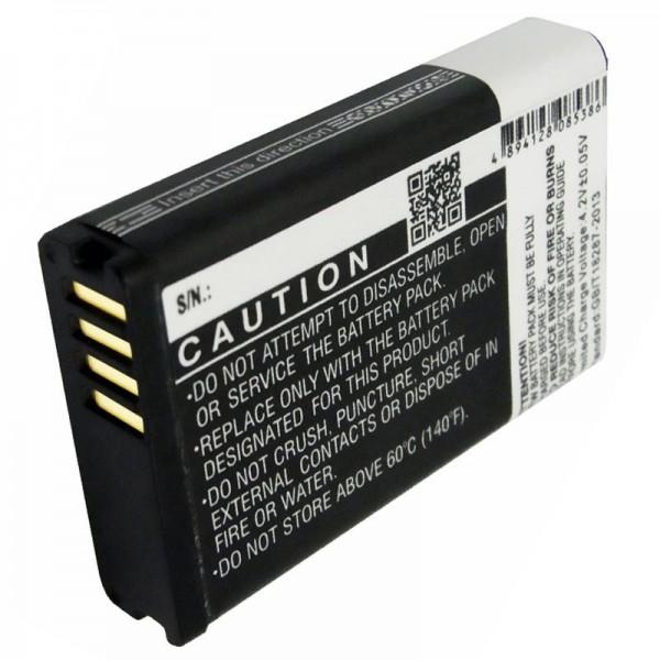 Batterie compatible avec la batterie Garmin Montana G2M600, 010-11599-00