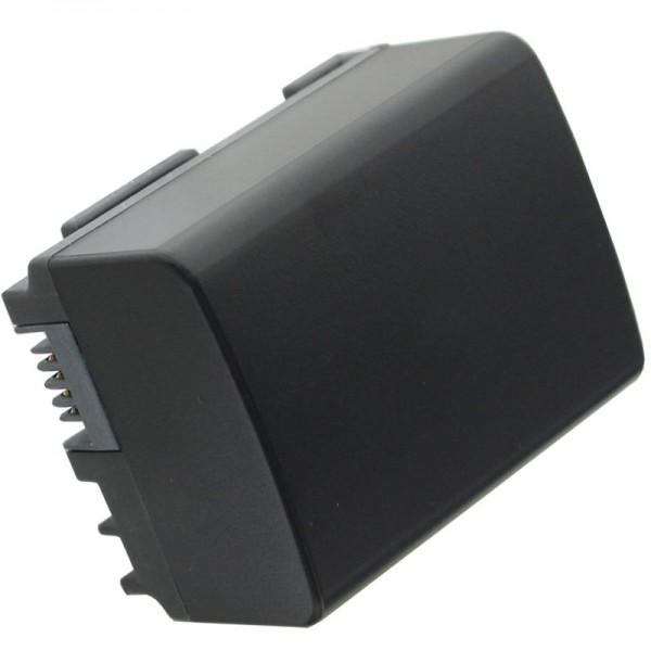 AccuCell batterie adapté pour Canon BP-808 avec affichage des minutes