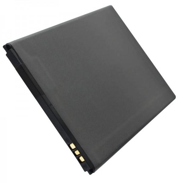 AccuCell batterie uniquement compatible avec Hisense HS-U970, batterie HS-T970 LI37200C, LI38200A, LI37200E