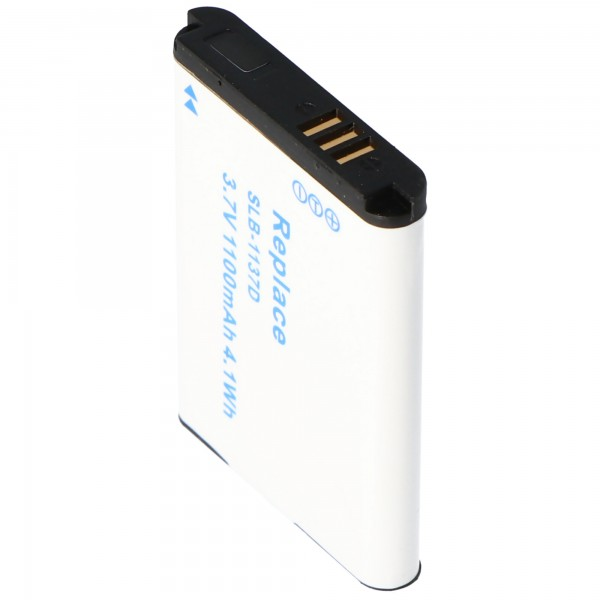Batterie AccuCell pour Samsung SLB-1137D, NV 100HD, NV 24HD