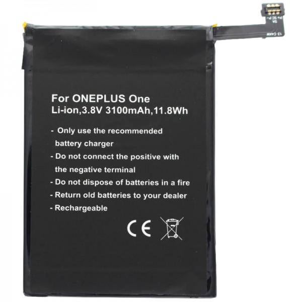 Batterie pour ONEPLUS One batterie A0001, One, batterie BLP571