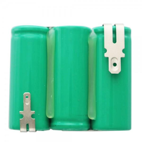Batterie pour ciseaux à gazon Wolf Accu 45, ACCU45, 3,6 volts NiMH 2150mAh