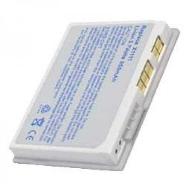 AccuCell batterie adapté pour Dell Axim X3, X3i, X30 Argent