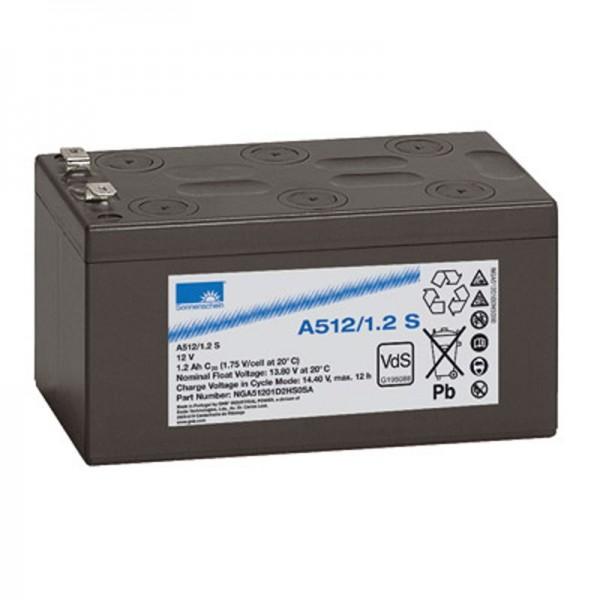 Sunshine A512 / 1.2S batterie au plomb PB 12 volts 1.2Ah