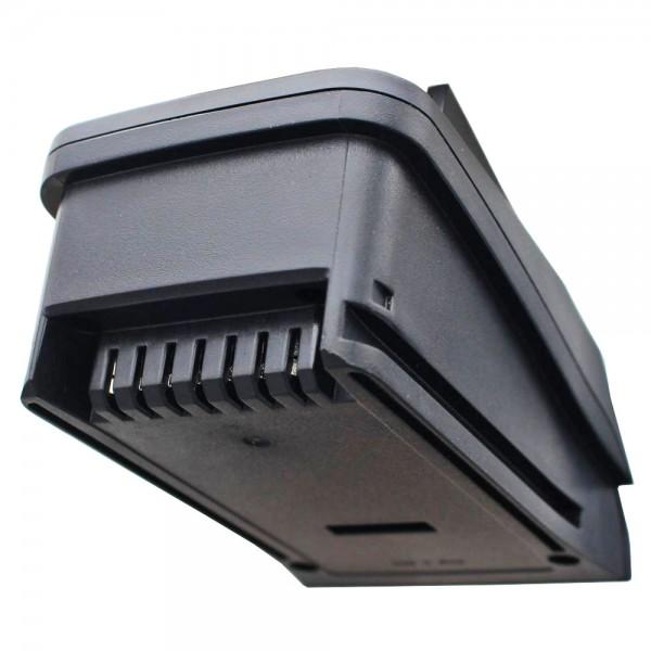 Adaptateur de charge AccuCell adapté à la batterie PSR 14.4 LI, PSR 18 LI-2, Uneo Maxx