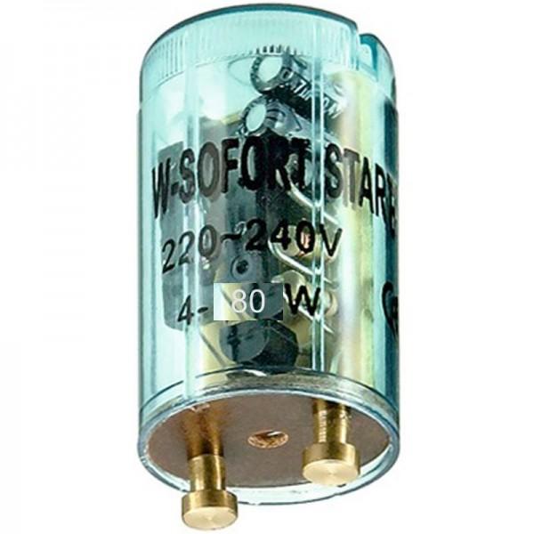 Démarreur pour tubes fluorescents 4 - 80 watts