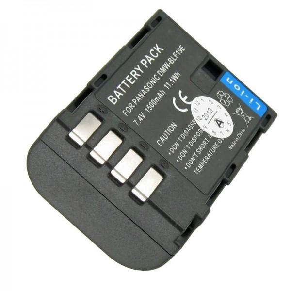 DMW-BLF19E Batterie de qualité AccuCell adaptable sur Panasonic DMC-GH3, Lumix DMC-GH3A