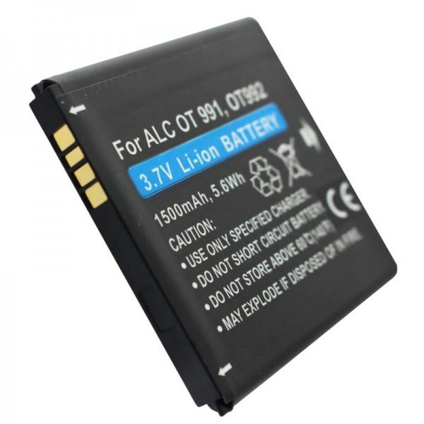 Alcatel One Touch 991 BatteryBY78, CAB32A0000C1, CAB32A0000C2, TLiB32A en tant que batterie remplaçable par AccuCell