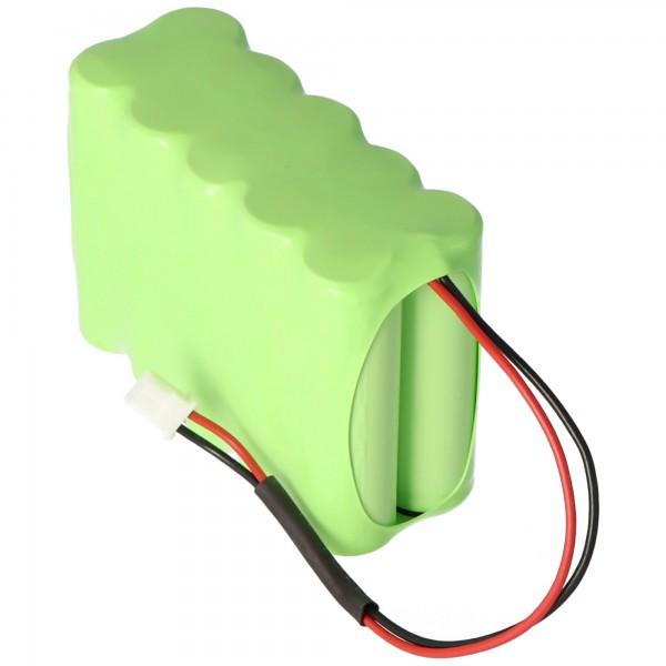 Batterie pour Siemens IAB1201-8, A5Q00020293, Sintony IC60-W-10 12 Volts 2100mAh
