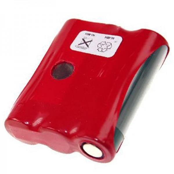 Batterie AccuCell pour Datalogic PT 2000, PP2000C, 1650mAh
