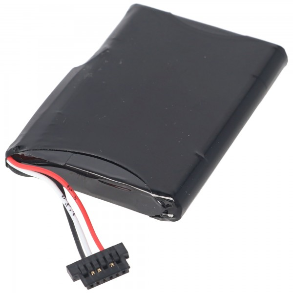 Batterie adaptéee pour Typhoon MyGuide 541380530001, 1250mAh