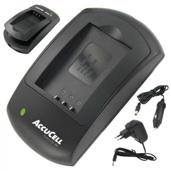 Chargeur AccuCell adapté à la batterie Panasonic DMW-BCL7