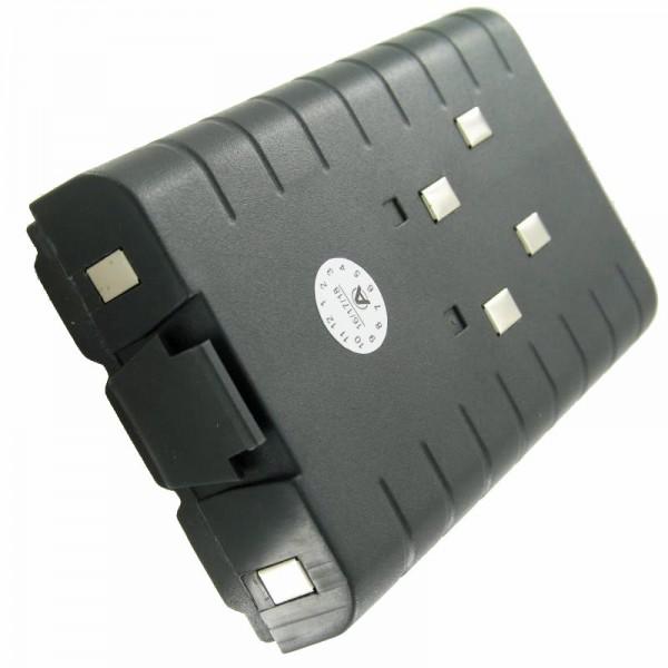 Batterie rechargeable TAIT 1000 1002, 3000 en tant que réplique batterie rechargeable NiCd de AccuCell