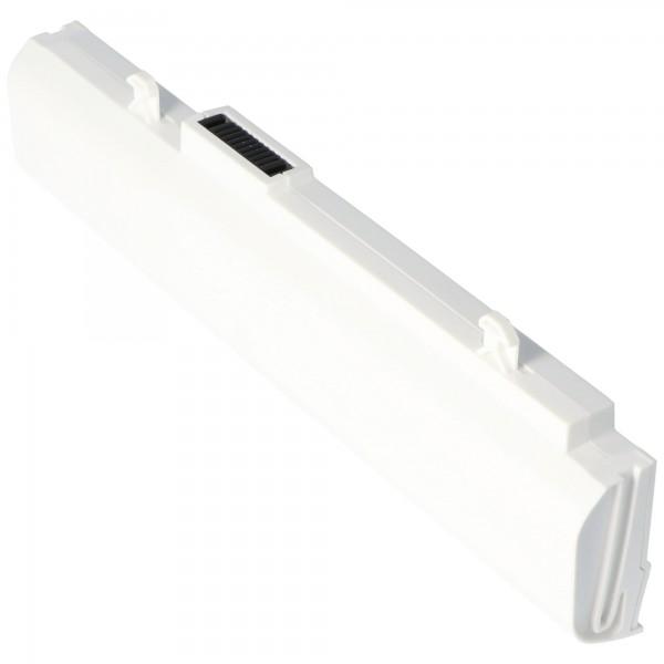 AccuCell batterie adapté pour Asus A32-1015 blanc, A31-1015 4400mAh