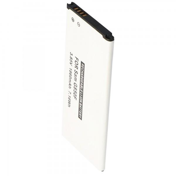 Galaxy ALPHA Battery EB-BG850G en réplique de la batterie AccuCell avec 1860mAh