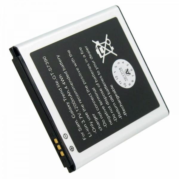 Batterie adapté pour Samsung Galaxy Trend Lite Batterie GT-S7390