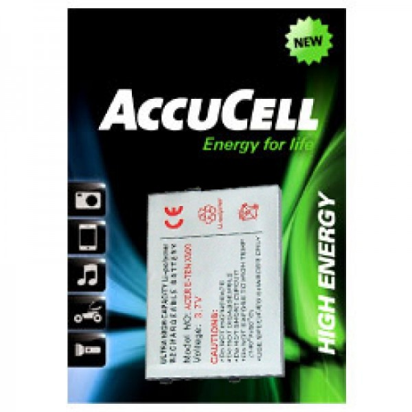 batterie AccuCell adapté pour E-TEN Glofiish M700, Batterie X500