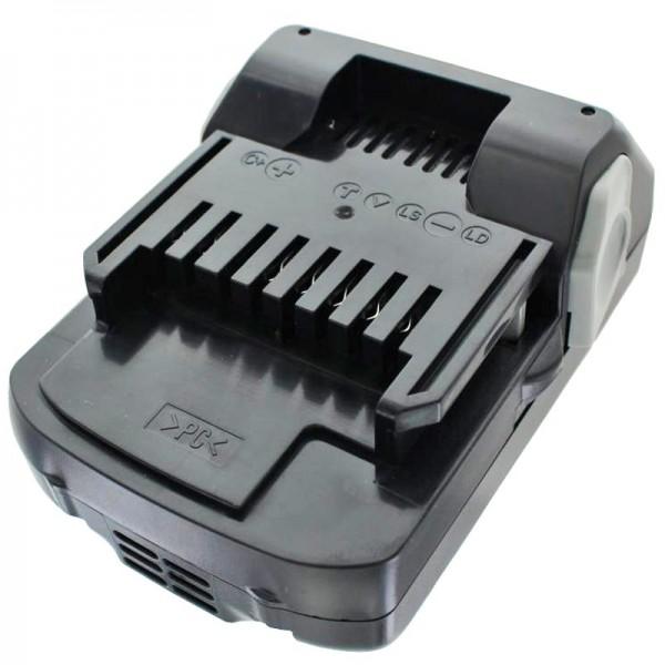 Batterie pour Hitachi BSL 1815X, BSL 1830, BSL 1840, 330067, 330068, 330139, 330557, 1.5Ah