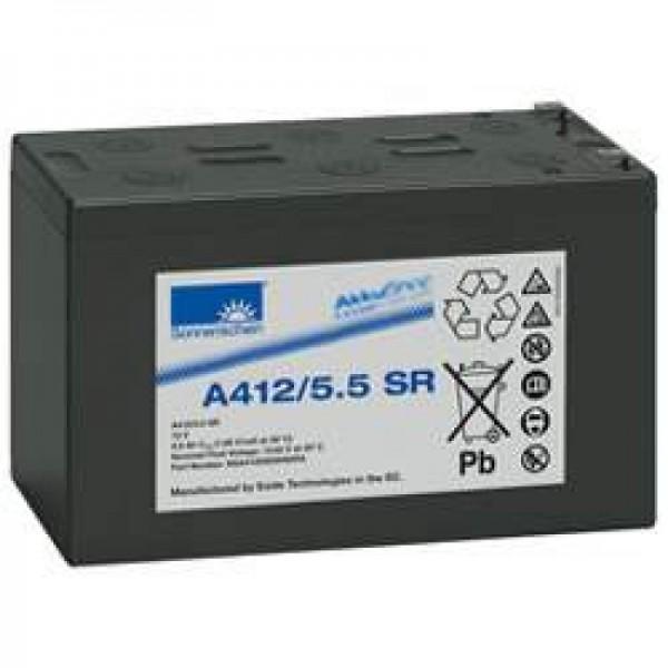 Sonnenschein Dryfit A412 / 5.5SR batterie au plomb PB 12Volt 5.5Ah