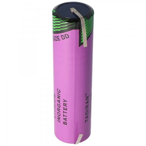 Batterie au lithium Tadiran SL-790 / T avec étiquettes de soudure en forme de U, SL-2790 / T