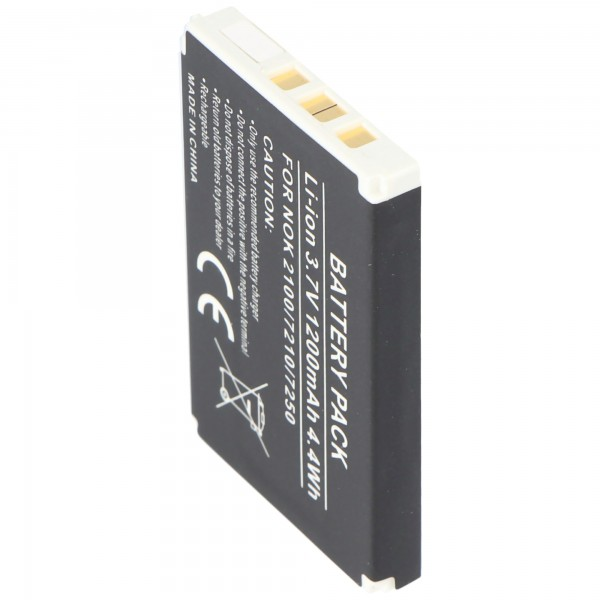 AccuCell batterie adapté pour Nokia 3205, BLD-3, 900mAh