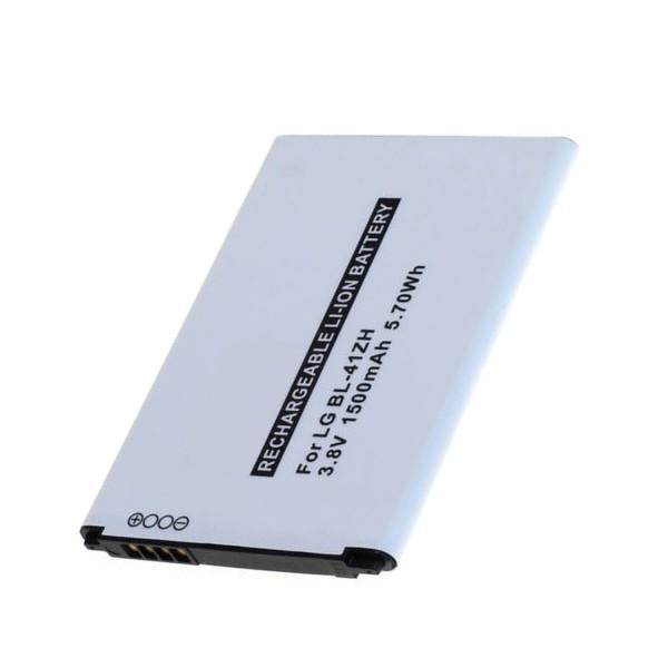 Batterie adaptée pour LG Leon BL-41ZH 3.7 Volt 1500mAh