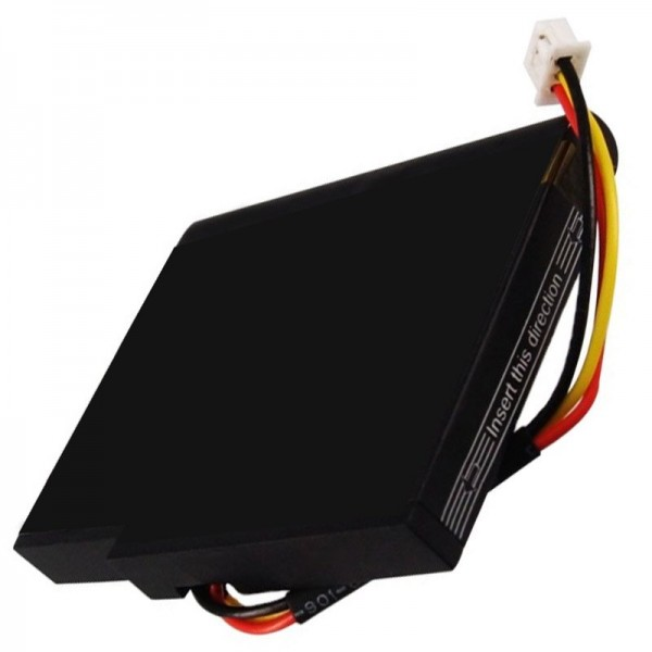AccuCell batterie compatible avec batterie TOMTOM Live 1535, VIA 135, P11P17-14-S01