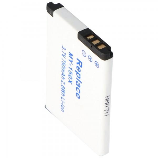 AccuCell batterie adaptée pour Vodafone 527 batterie 526, 287144366, 287079530