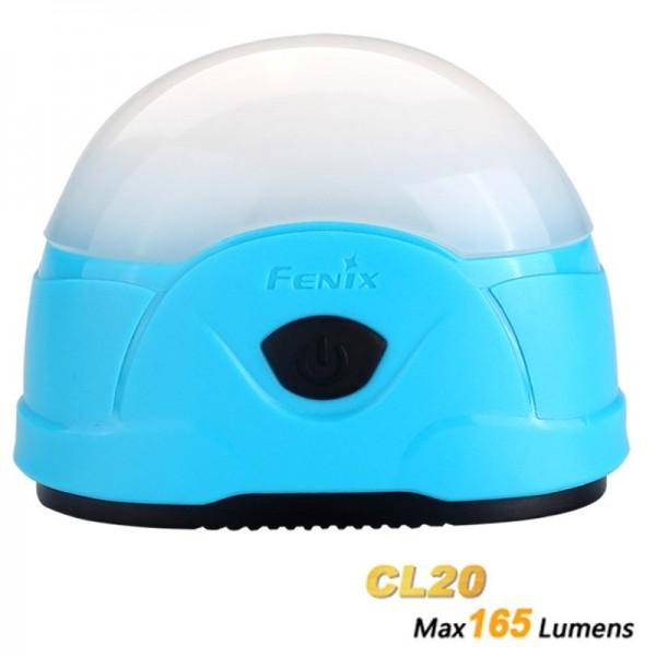 Fenix CL20 LED Camping Bleu Clair avec piles