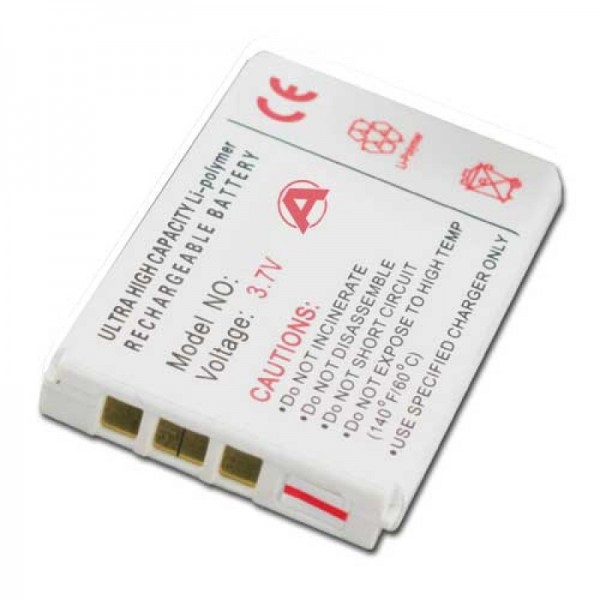 Batterie adaptée pour Aiptek DV-6800, DV-8200, DV-8800, DZO-V38P