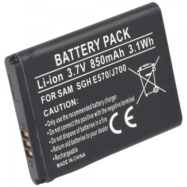 Batterie pour Samsung SGH-E570 batterie, SGH-J700 batterie AB503442BECSTD