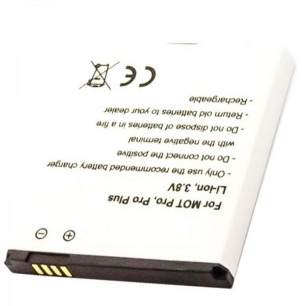 Batterie pour Motorola HP6X Batterie Motorola Pro, Pro Plus, Pro +, XT685