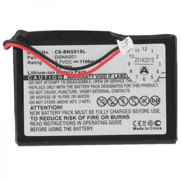 Batterie pour Blaupunkt Travelpilot lucca 3.3 (pas d'origine)