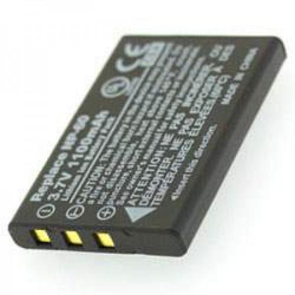 AccuCell batterie convient pour batterie Somikon DV-920.HD