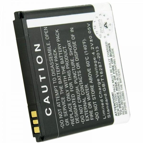Batterie compatible avec la batterie Prestigio Multiphone 4322 Duo PAP4322 DUO