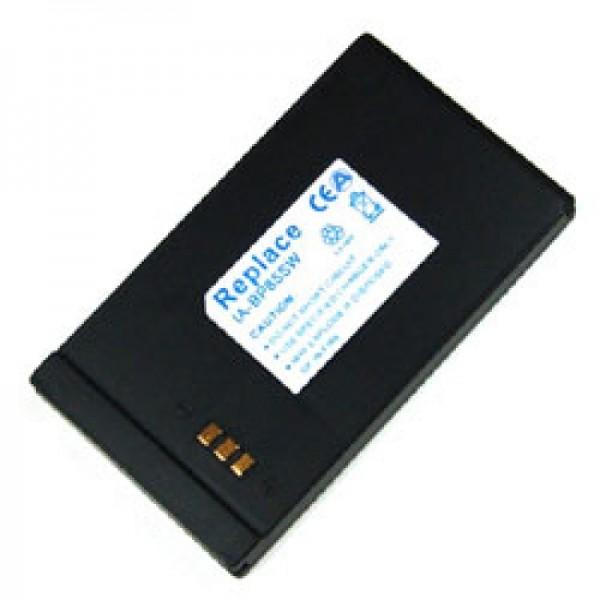 Batterie pour Samsung VP-DX10, 850mAh