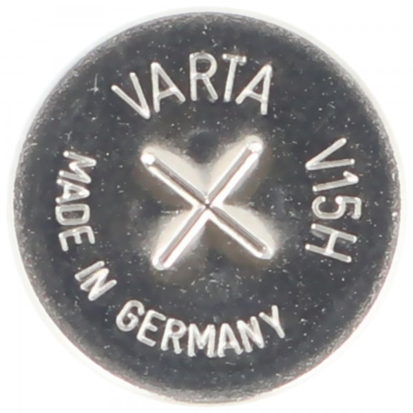 Pile bouton NiMH rechargeable Varta V15H NiMH sans étiquette de soudure