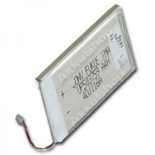 Batterie AccuCell adaptable sur Sony Clie PEG-N710C, PEG-N760C