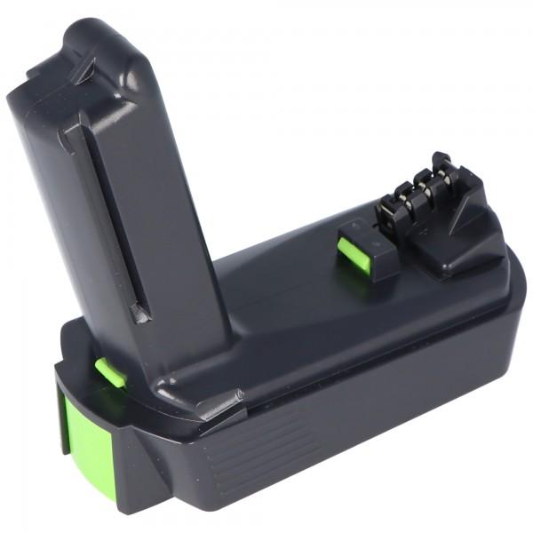 Batterie Imitation adapté pour Festool BP-XS Batterie 2Ah n ° 498616 pour perceuse / visseuse sans fil CXS