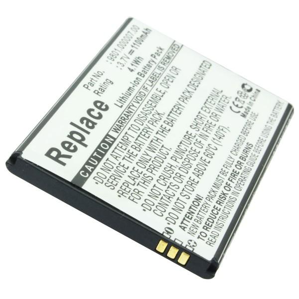 AccuCell batterie adaptée à la batterie Blaupunkt America 9801.000007.00