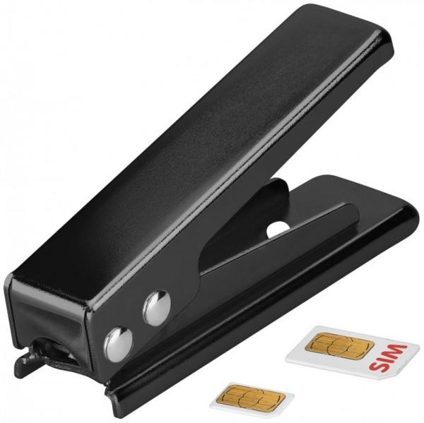 Cartes SIM Die Micro, Carte perforée SIM sur Micro SIM, noir